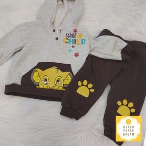 🔴5x$25 - Baby Disney The Lion King Outfit K18